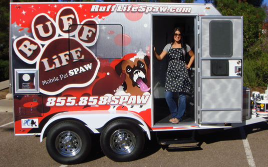 Our Mobile Pet Salon